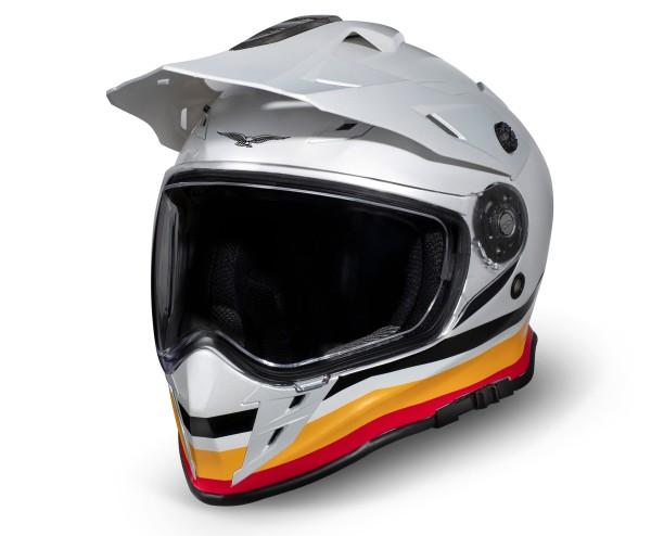 Moto Guzzi Adventure Touring Helm V85TT zilver