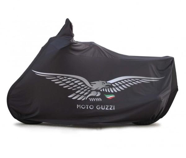Originele opvouwbare garage V7 Aquila, zwart voor Moto Guzzi V7 I + II, V7 III / V7 850