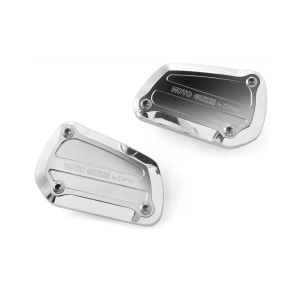 Originele hoes voor hoofdremcilinder, aluminium, zilver voor Moto Guzzi Eldorado / California