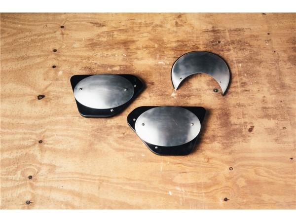 Originele hoes, zilver voor Moto Guzzi V7 I + II
