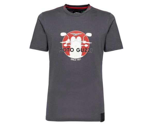 Moto Guzzi heren t-shirt katoen grijs