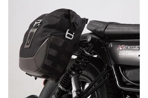 Zijtassenset Moto Guzzi V9 Roamer / Bobber (16-) SW Motech Legend Gear