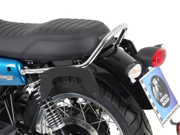 C-Bow zijdrager zwart voor V 7 III stone / special / Anniversario / Racer (Bj.17-)