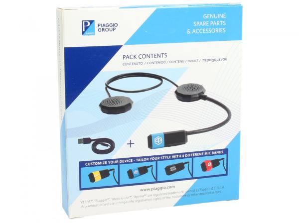 Bluetooth-communicatiesysteem Vespa / Piaggio / Aprilia / Moto Guzzi