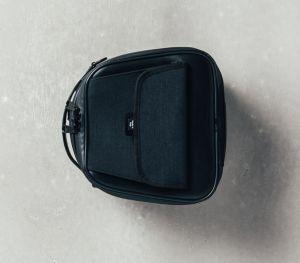 Original Hecktasche, schwarz für Moto Guzzi V9 Bobber