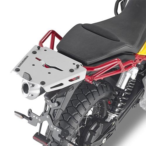 Topkofferdrager aluminium voor Moto Guzzi V85 TT (Bj.19-) origineel Givi