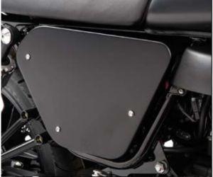 Originele covers, aluminium, zwart voor Moto Guzzi V7 I + II