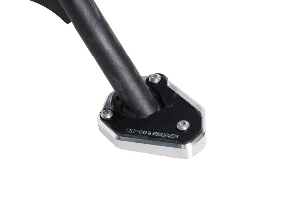 Zijstandaardplaat voor V85 TT (Bj. 2019) origineel Hepco & Becker