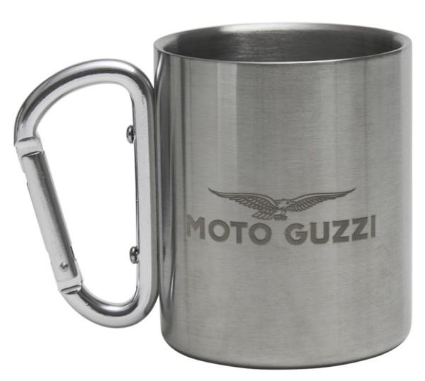 Moto Guzzi beker roestvrij staal