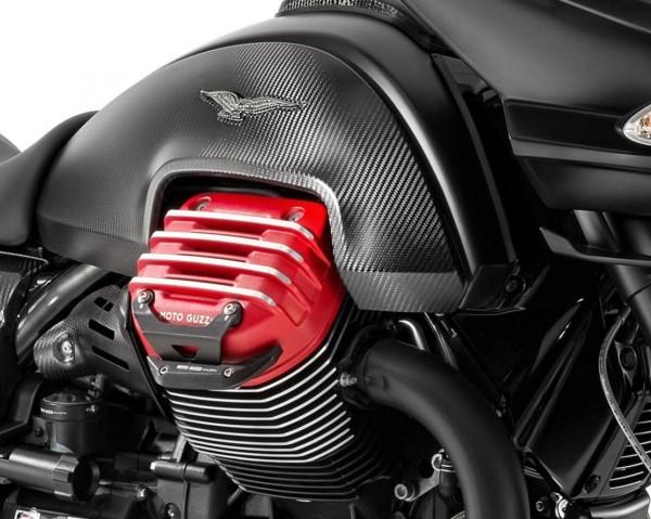 Aluminium beschermbeugel, zwart voor Moto Guzzi MGX 21