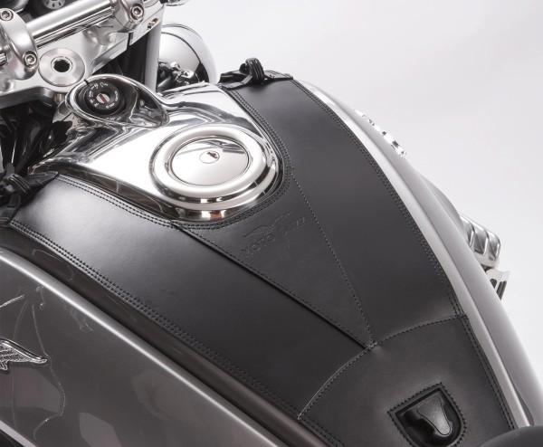 Originele tankcover, leer voor Moto Guzzi Eldorado
