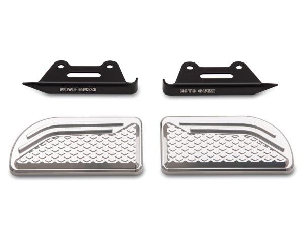 Originele pads voor voetsteunen, aluminium voor Moto Guzzi Audace