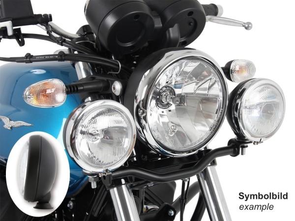 Twinlight set extra koplampen zwart voor V 7 III stone / special / Anniversario / Racer (Bj.17-)