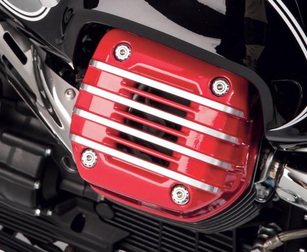 Origineel deksel voor cilinderkop (paar), rood voor Moto Guzzi Eldorado