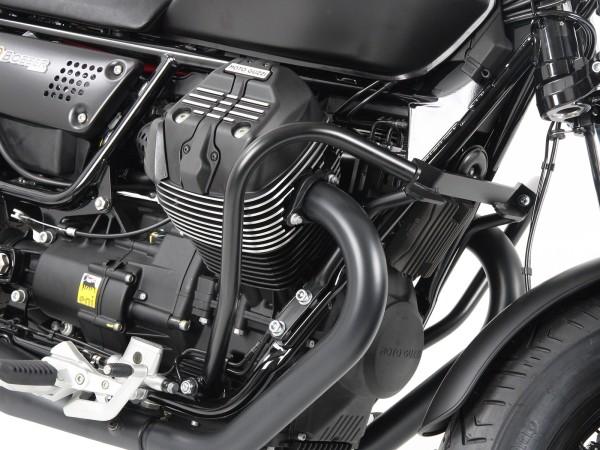 Motorbeschermbeugel zwart voor V 9 Bobber (Bj.16-) / Bobber Sport (Bj.19-) origineel Hepco & Becker