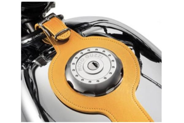 Tankriem, bruin, leer voor Moto Guzzi V7 III