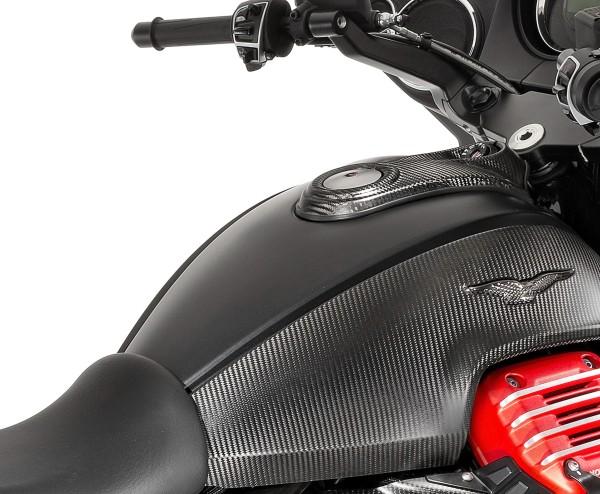 Carbon tankdeksel voor Moto Guzzi MGX 21