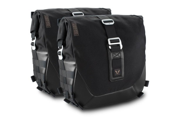Legend Gear zijtassysteem LC Black Edition voor Moto Guzzi V7 III SW Motech