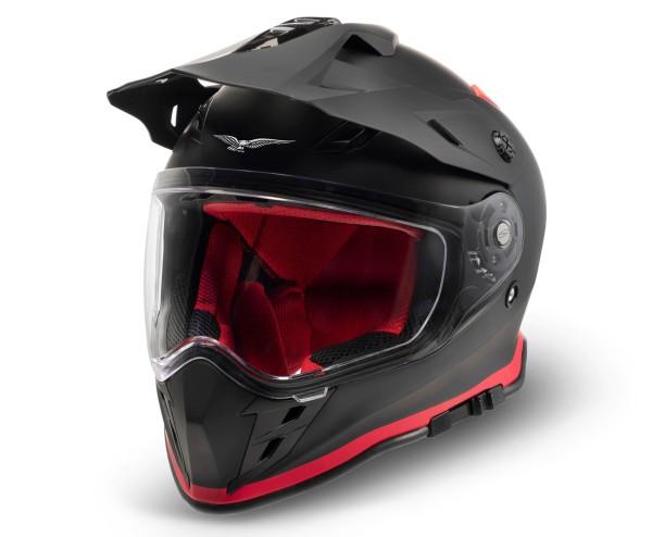 Moto Guzzi Adventure Touring Helm V85TT zwart