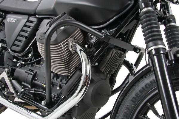 Motorbeschermbeugel zwart voor V 7 II (Bj.15-) origineel Hepco & Becker