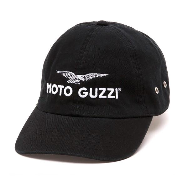 Moto Guzzi Base Cap THE CLAN zwart