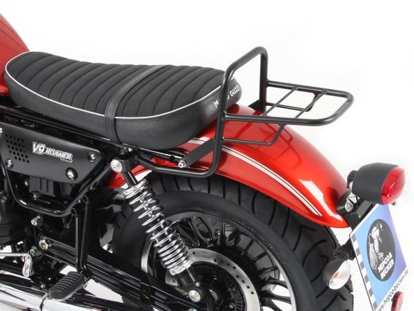 Buis bagagerek topkofferdrager zwart voor V 9 Roamer (Bj.17-) model met korte zitting