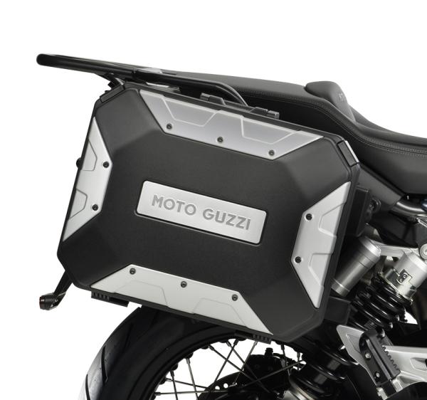 """Aluminium zijkoffer (set) """"URBAN"""" voor Moto Guzzi V85 TT"""