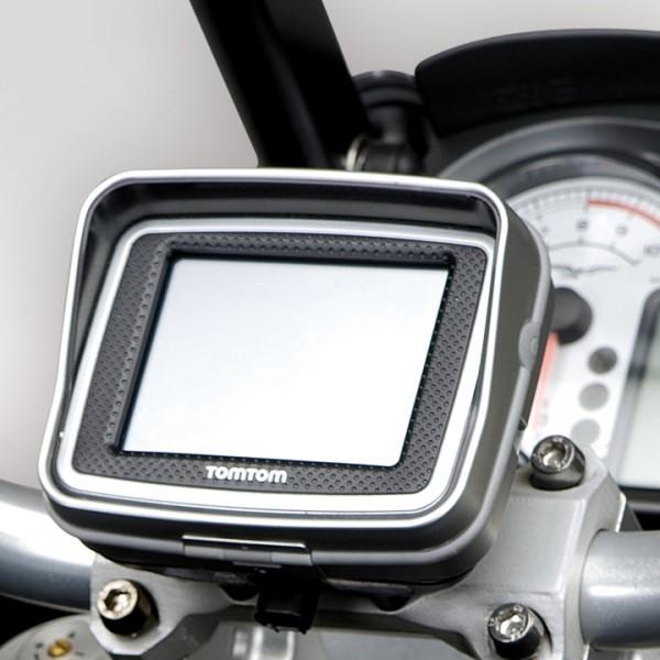 Moto Guzzi Stelvio houder voor navigatiesysteem Tom Tom Rider II
