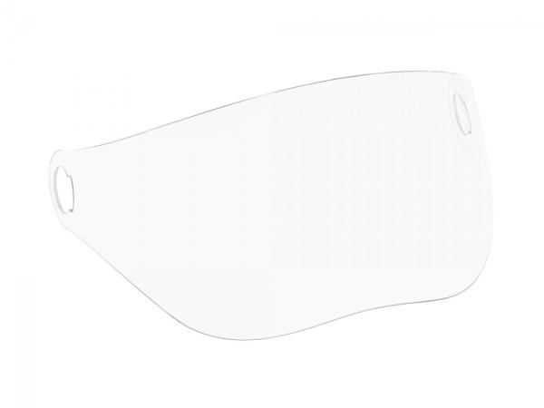 Helder vizier voor V-Stripes, Visor 3.0 en Moto Guzzi helm