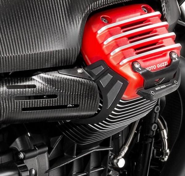 Hittebescherming, roestvrij staal voor Moto Guzzi MGX 21
