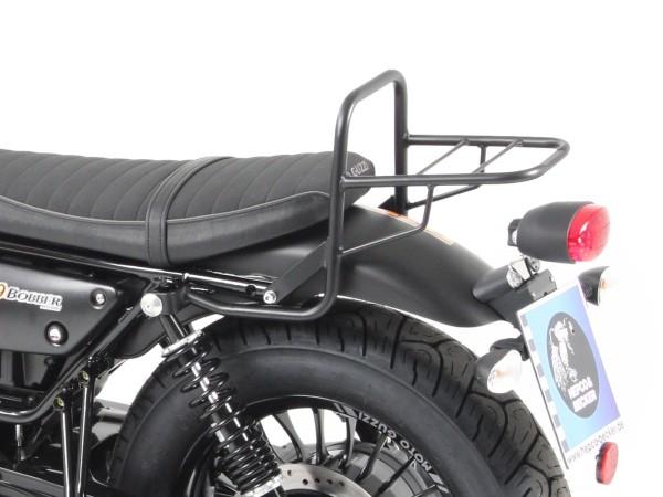 Buis bagagerek topkofferdrager zwart voor V 9 Bobber (Bj.16-) model met korte zitting