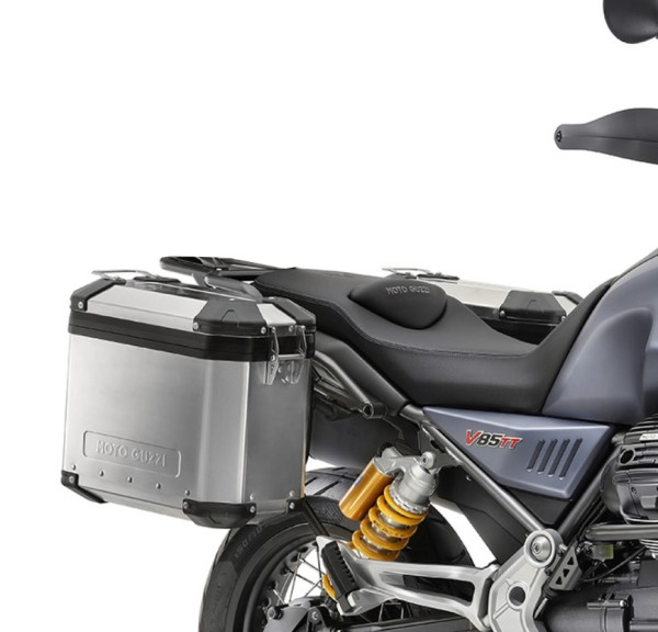 Originele aluminium kofferset Moto Guzzi V85 TT