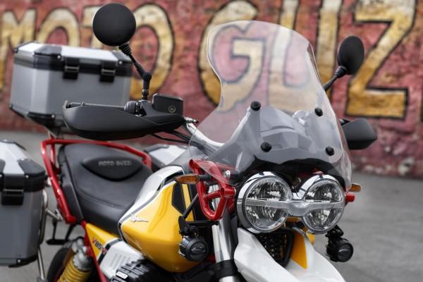 Originele touring windscherm voor Moto Guzzi V85 TT