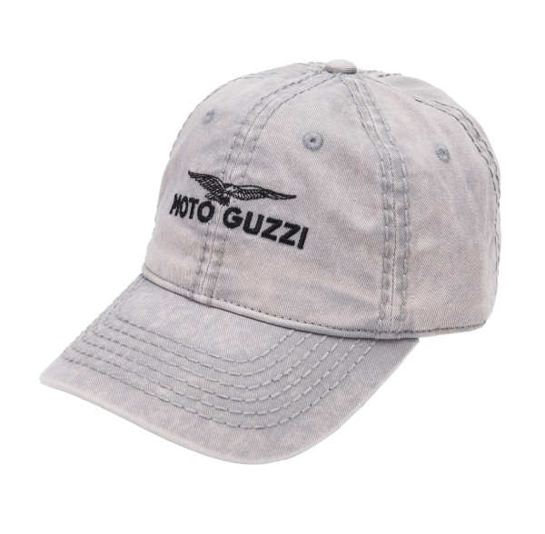 Moto Guzzi Base Cap kinderen grijs