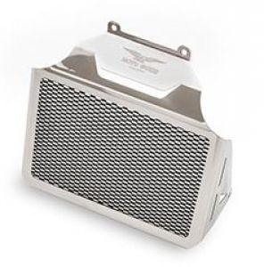 Origineel oliekoelerdeksel, aluminium, zilver voor Moto Guzzi Eldorado / California