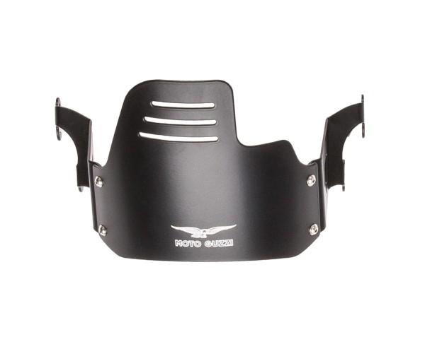 Originele koplampkap, zwart voor Moto Guzzi V9 Bobber