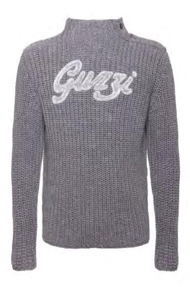 Moto Guzzi Sweater Historisch grijs