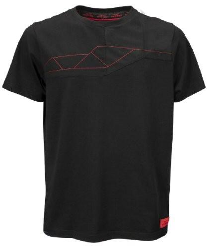 Moto Guzzi heren t-shirt V85TT katoen zwart