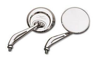 Originele spiegel, aluminium, zilver voor Moto Guzzi Eldorado